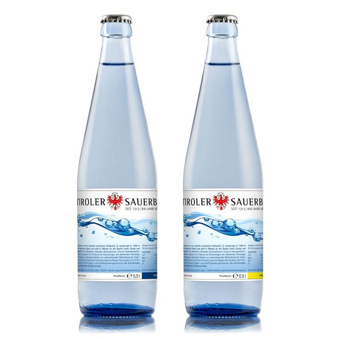 Produktfotografie von Glasflasche - Produktfotografie. Produkte für Onlineshop Fotografieren