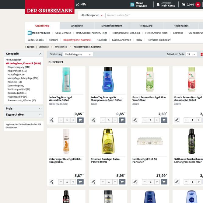 Produktfotografie für DerGrissemann - Flugblatt, Online Shop, E-Commerce