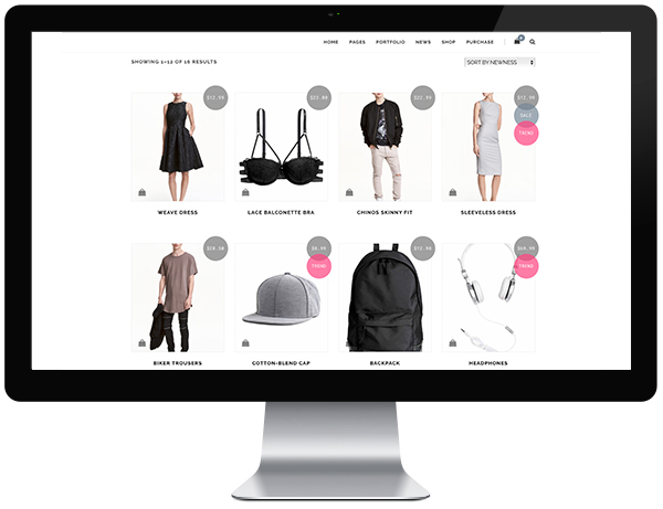 Beispiel Homepage Online-Shop E-Commerce Produktfotograf.at