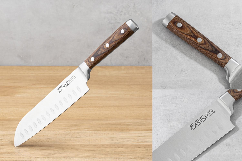 Packshot -Zolmer Homegoods - Produkt und Werbebilder von Messer für Amazon